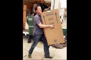 David Cameron Viral image (Credits - The Daily Mail)